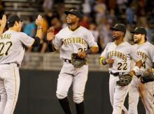 Jung Ho Kang, Gregory Polanco, Andrew McCutchen, Jaff Decker