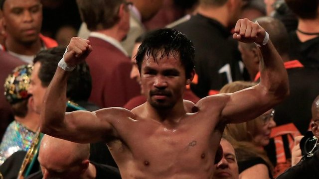 Manny Pacquiao has called time on his boxing career