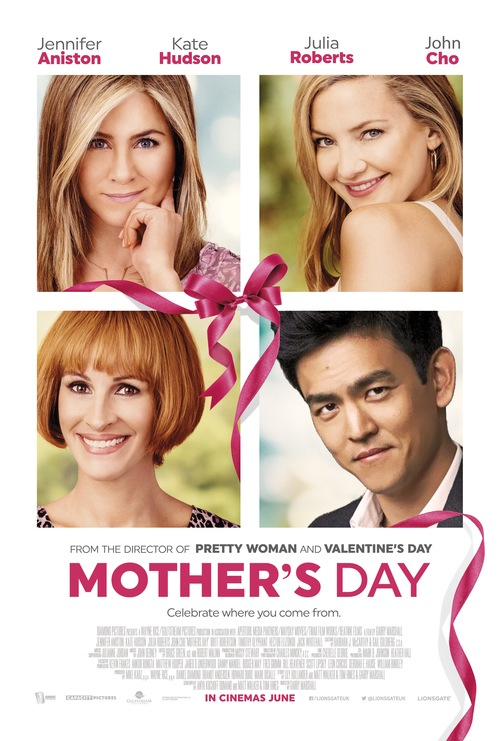 John Cho, swapping for Jason Sudeikis on the poster for 'Mother's Day'