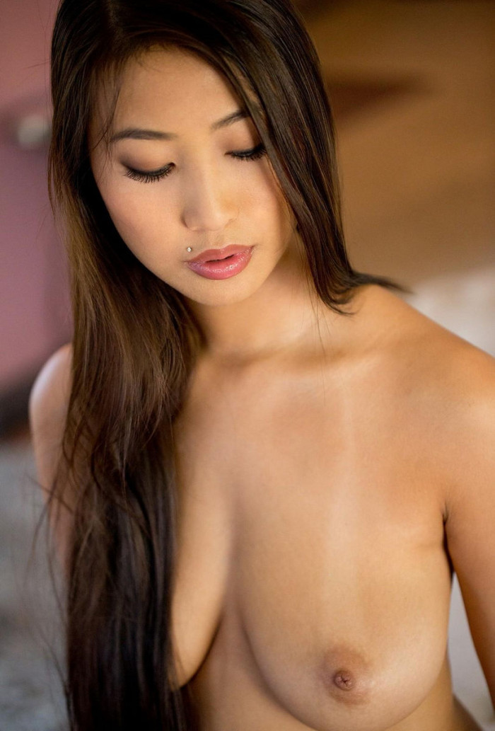 naked asian girls with piercings