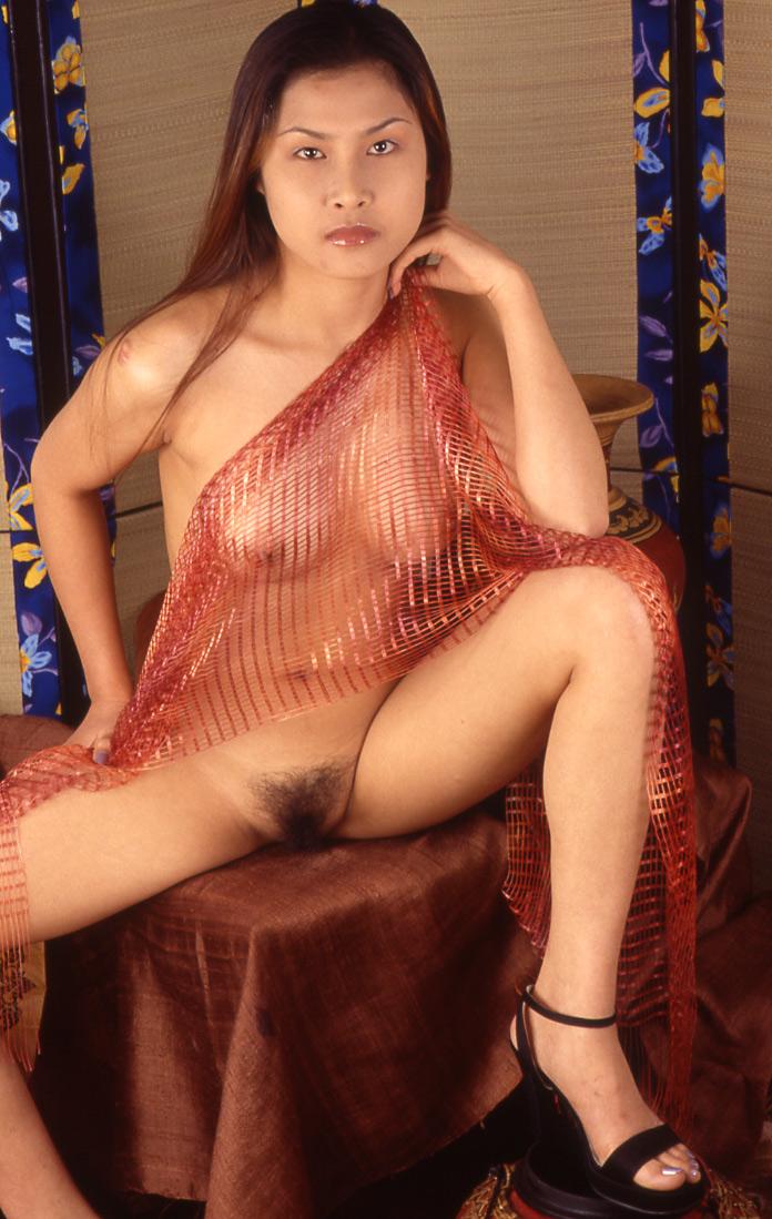 Woman naked man oral