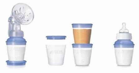 avent via storage system breastmilk scf 612/10