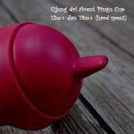 Spout pada Avent Pingu Cup 12m+ dan 18m+. Bahan plastik