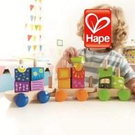 HAPE Toys Fantasia Blocks Train 4