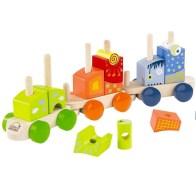HAPE Toys Fantasia Blocks Train 5