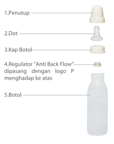 Pigeon Nursing Bottle For Cleft Lips Palate Baby
