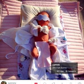 Anak Anang Hermansyah. Sumber: instagram