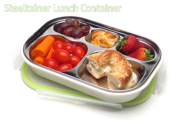 Steeltainer Lunch Container 5 Compartment
