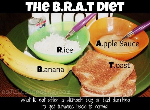The BRAT Diet