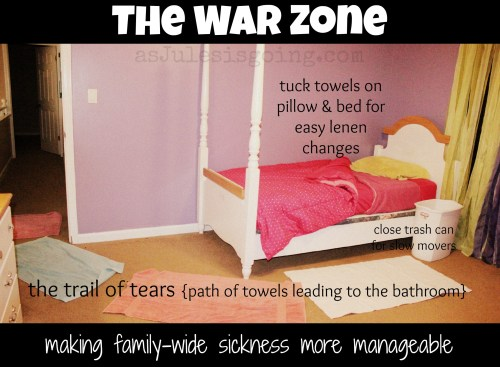 The War Zone making family-wide sickness more manageable