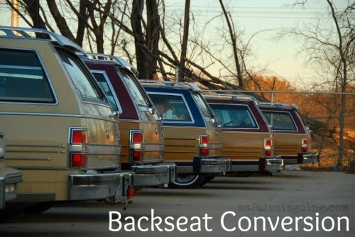 backseat conversion