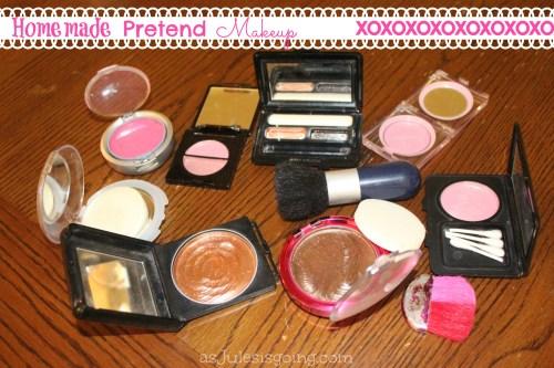 Homemade Pretend Makeup