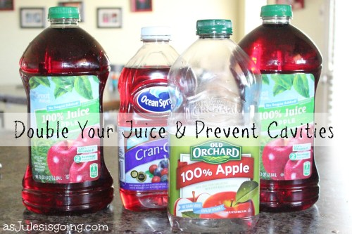 Double Your Juice and Prevent Cavities
