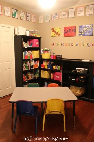 organized school room
