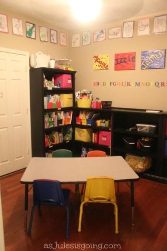 our school room redo