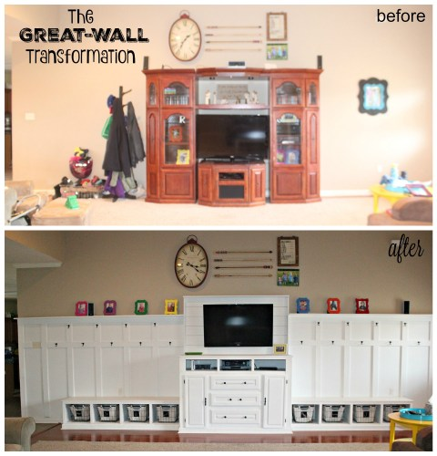 The Great-Wall Transformation