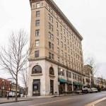 Flat Iron Building & Wall Street Asheville