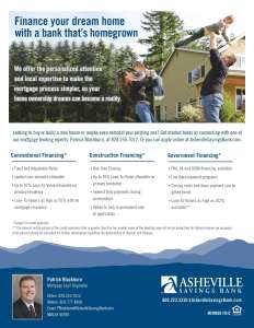 Asheville Savings Bank Mortgage Lender