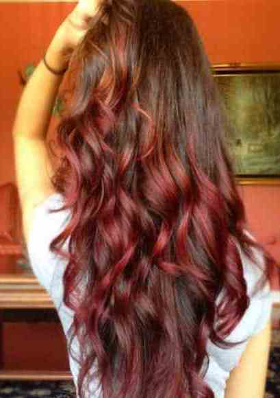 15 ideas for red ombre hair. Black Bedroom Furniture Sets. Home Design Ideas