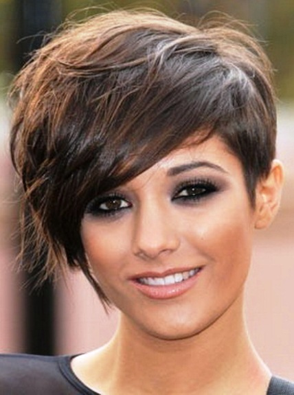 Side Swept Pixie Cut Short Pixie Haircuts Askhairstyles