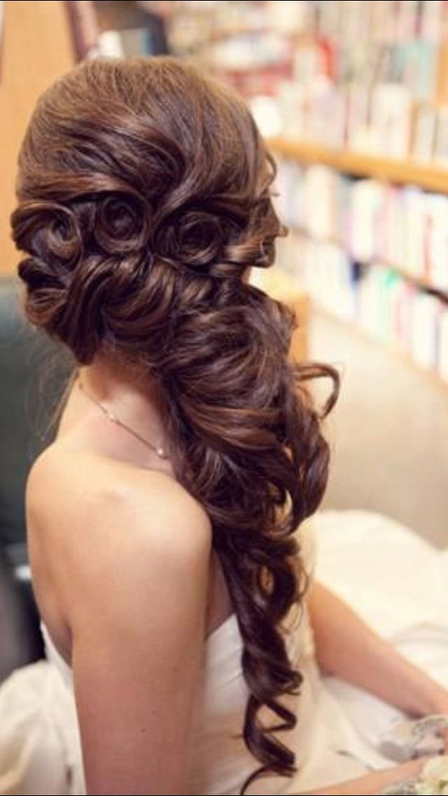Side Swept Hairstyles For Indian Wedding Askhairstyles