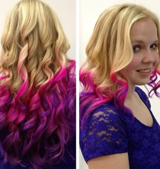 15 Luscious Pink Ombre Hairstyles