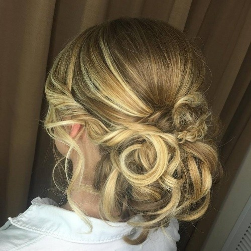 classy hairstyles wedding guests