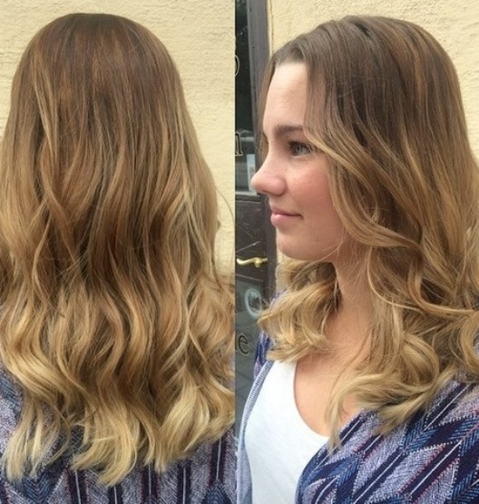 Medium Length And Soft Color Fade Soft Ombre Hairstyles Askhairstyles