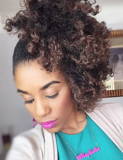 Naturally Curly Ponytail Side Ponytail Hairstyles