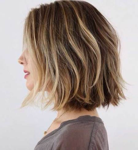 20 Brown Balayage Short Hair Looks