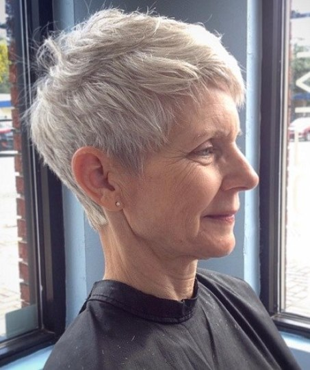 15 Short Hairstyles For Women Over 50