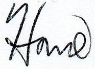 howie signature