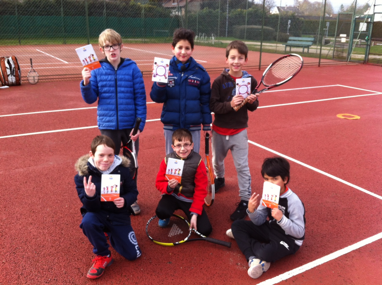 Remise passeports Galaxie Tennis 1