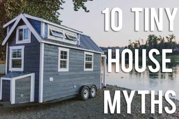 10 mitos debunked rumah kecil!