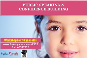 Public Speaking and Confidence Building Workshop for children in Singapore