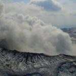 阿蘇山で小規模噴火