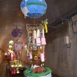 阿蘇ジオパークの造り物登場!@高森湧水トンネル