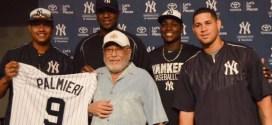 El 10 veces ganador del Grammy, Eddie Palmieri es reconocido por los Yankee de NY
