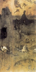 Figure 4. The Fall of the Rebel Angels by Hieronymus Bosch (1500-1504) http://upload.wikimedia.org/wikipedia/commons/7/78/Hieronymus_Bosch_-_The_Fall_of_the_Rebel_Angels_%28obverse%29_-_WGA2572.jpg http://www.wikiart.org/en/hieronymus-bosch/the-fall-of-the-rebel-angels-1504