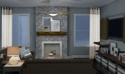 Small Of Rustic Living Room