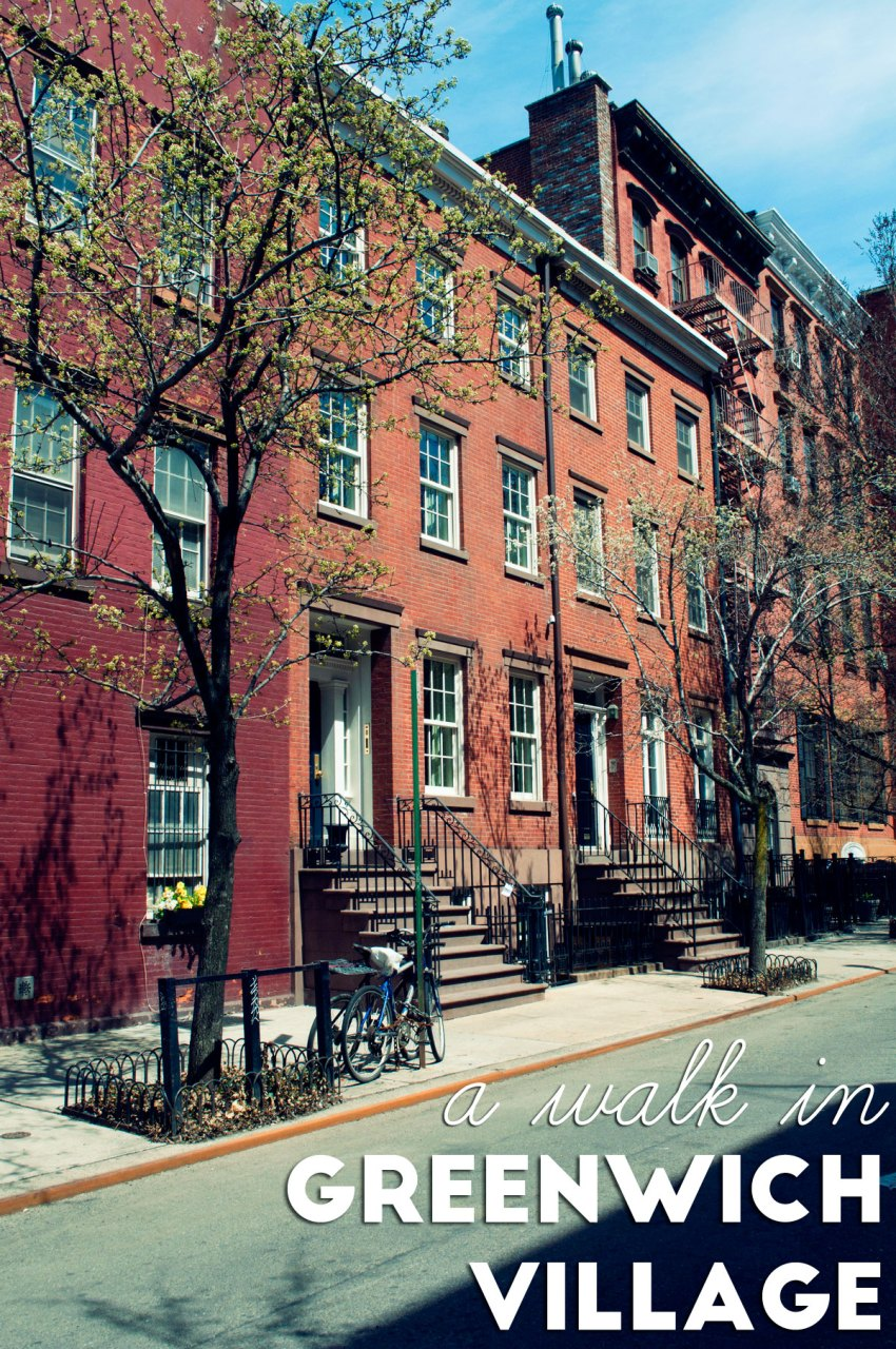a walk in Greenwich Village | Aspects of Style