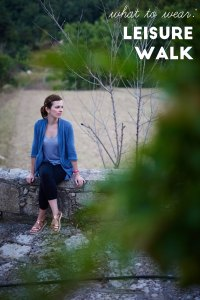 what to wear: leisure walk