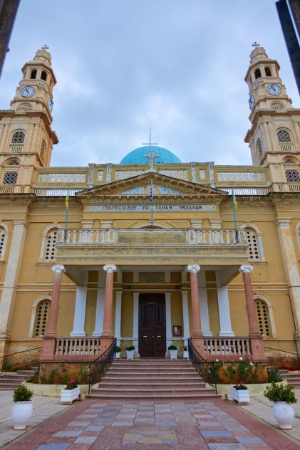 Evangelismos church in Halepa neighborhood, Chania