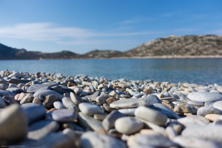 pebbles on the beach, Agios Pavlos, Amorgos, Greece