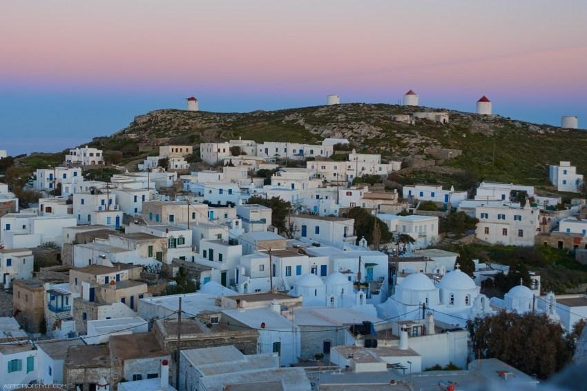 Chora Amorgos, Greece