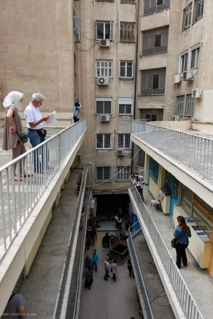 Anatoli arcade rooftop off Klathmonos square