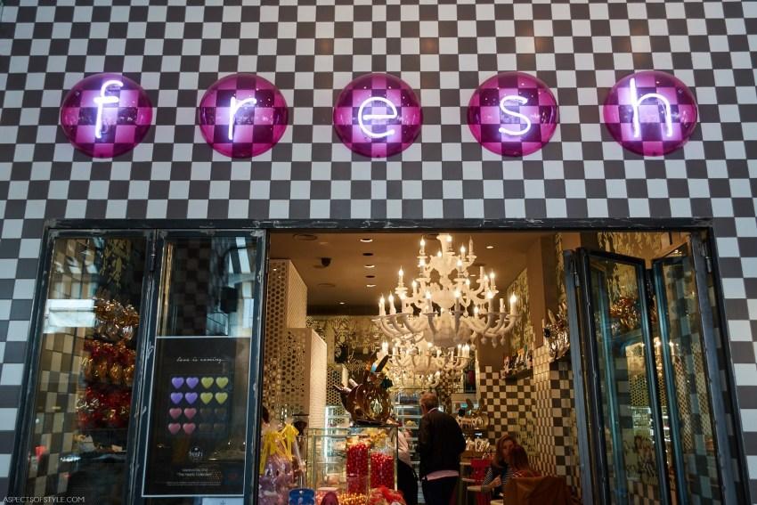 Lemon merFresh pastry store, Valaoritou street, Athens