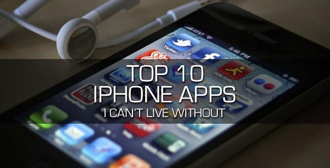 Top 10 Aplicaciones Iphone