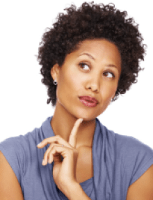 Woman Thinking 2 ASPIRE TO GREATNESS