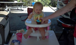 Emilia's first birthday